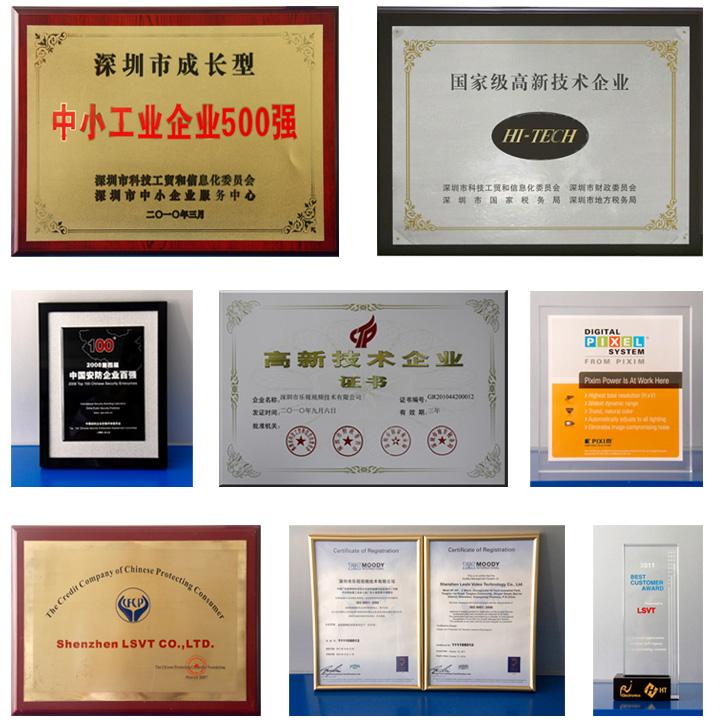 Certificate For Lsvt Cctv Camera